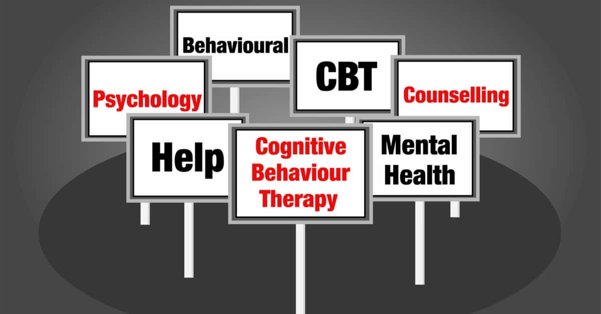 Cognitive behavior therapy signs