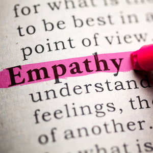 Fake Dictionary, definition of the word empathy.