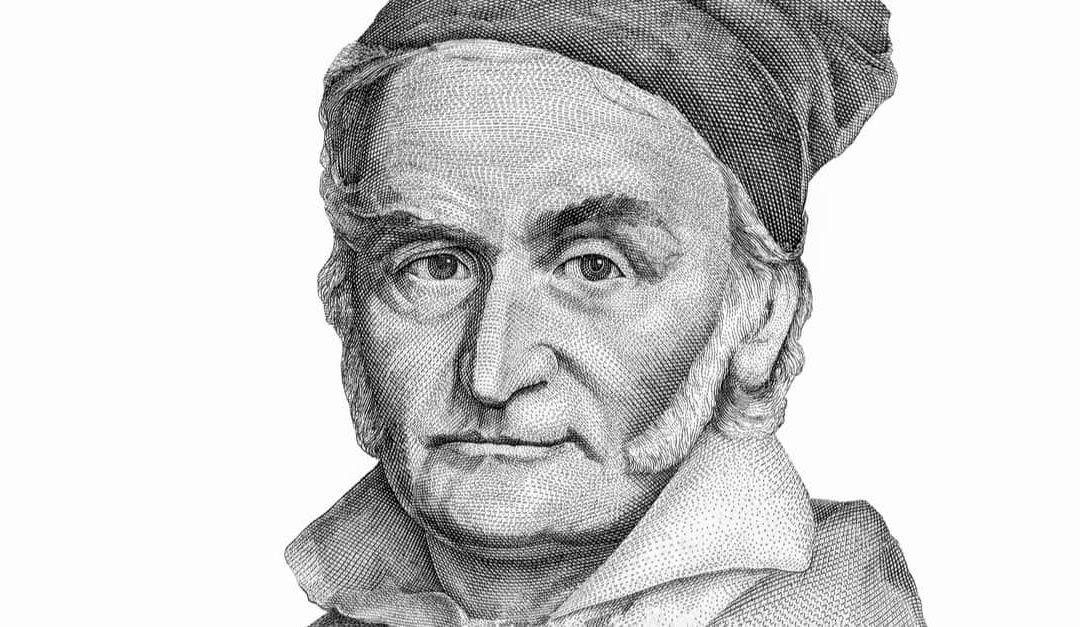 Carl Friedrich Gauss Portrait from Germany Banknotes.