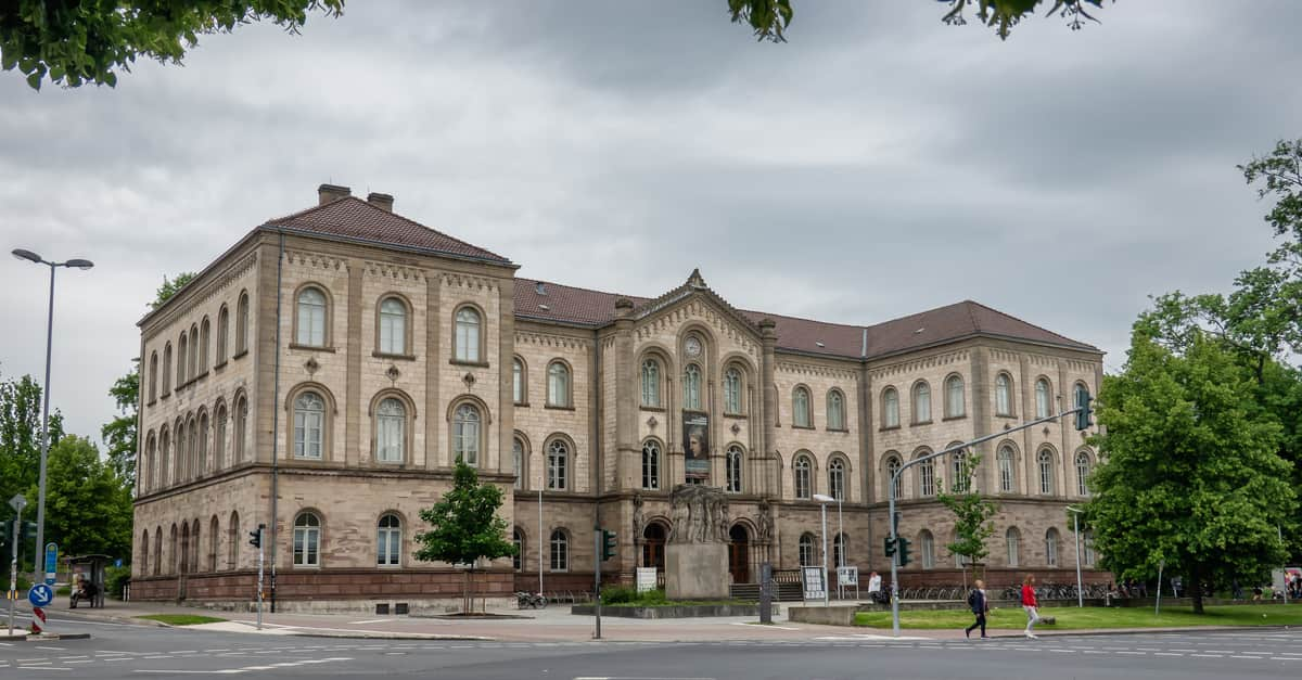 One of the main building of Gottingen University, where Carl Friedrich Gauss attended.