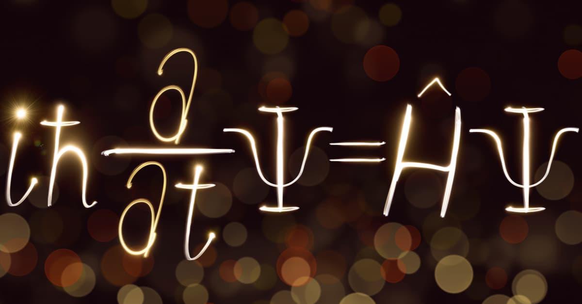 Quantum mechanics formula, Schrödinger's equation