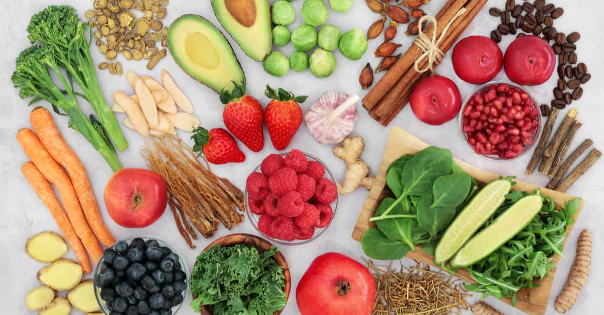 Foods which are a part of the anti-inflammatory diet
