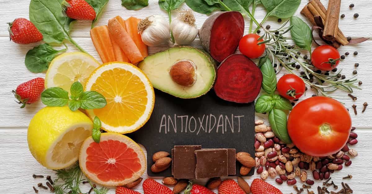 An anti-inflammatory diet is one high in antioxidants