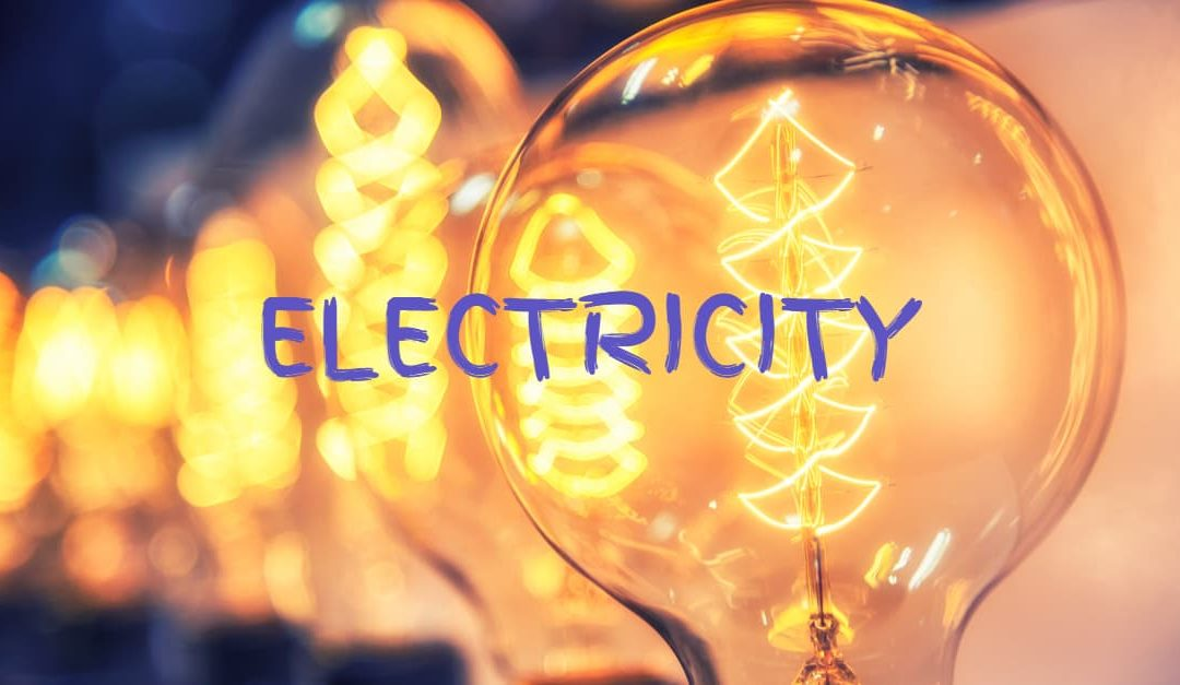 The history of electricity started with incandescent light bulbs
