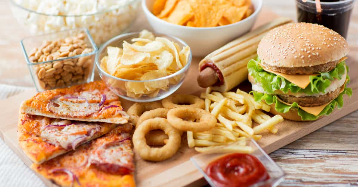 Fried and processed are foods to avoid