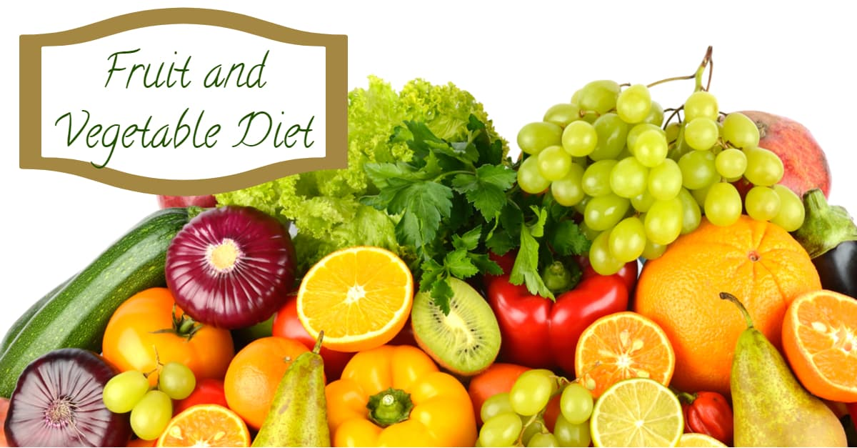 The Ornish diet is essentially a fruit and vegetable only diet