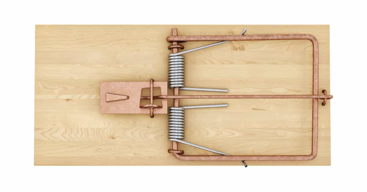 A mouse trap which Michael Behe used as an example of irreducible complexity