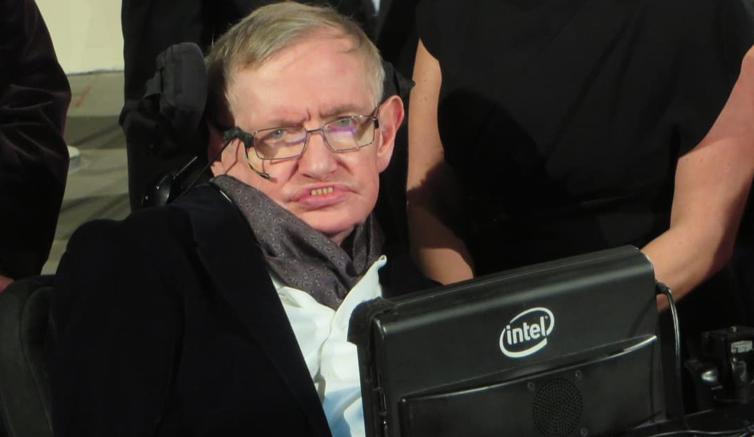 Professor Stephen Hawking whom hawking radiation is named after for discovering it